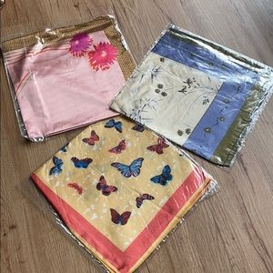 NEW Silk scarfs